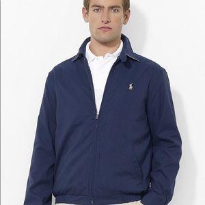 Polo Ralph Lauren Navy Windbreaker Med *EUC!!*